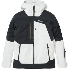 Marmot Smokes Run Jakke Herrer, white/black